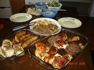 Dinner-BBQ